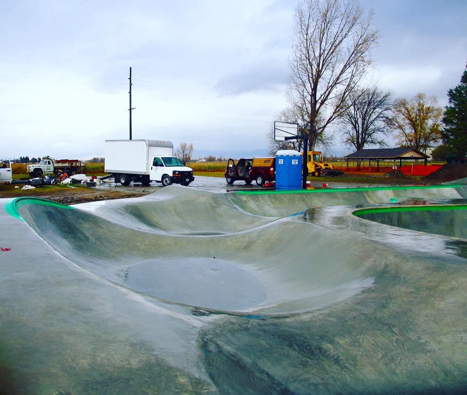 Stevensville, Montana skate shapes