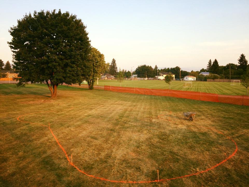 Stevensville, Montana groundbreaking