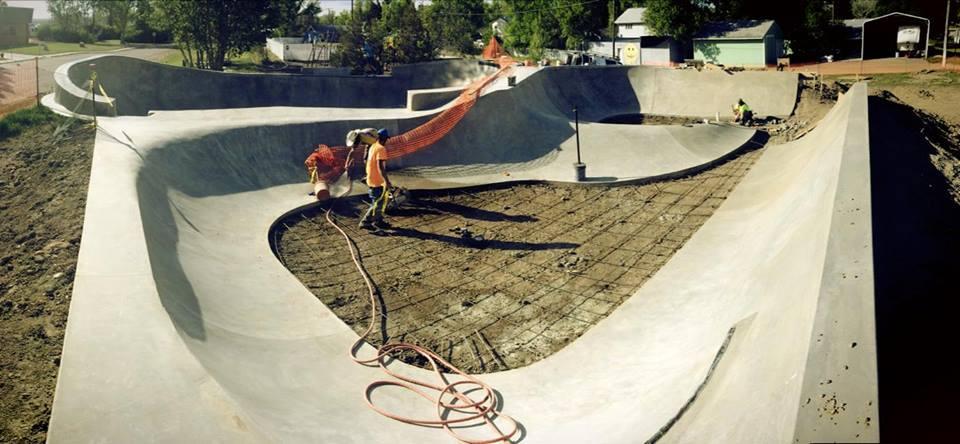 Big Sandy, Montana Skatepark Phase 2