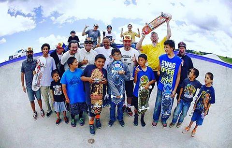 Jeff Ament & friends visit the Hays Skatepark on the Fort Belknap Reservation