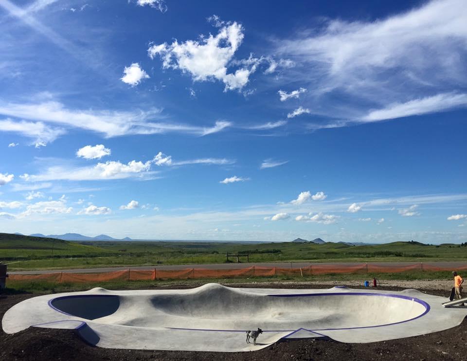 Hays, Montana Skatepark