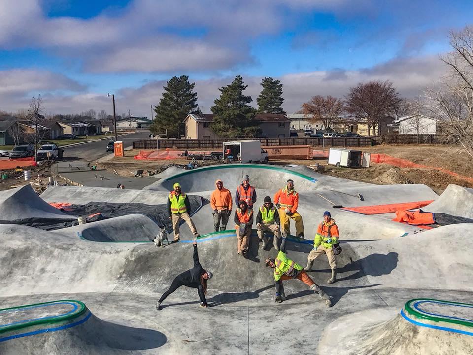 Fort Morgan, Colorado Skatepark crew