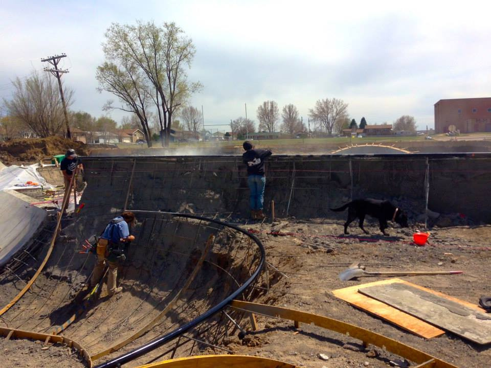 Milliken, Colorado Skatepark Construction