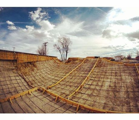 Rebar at the Milliken, Colorado Skatepark