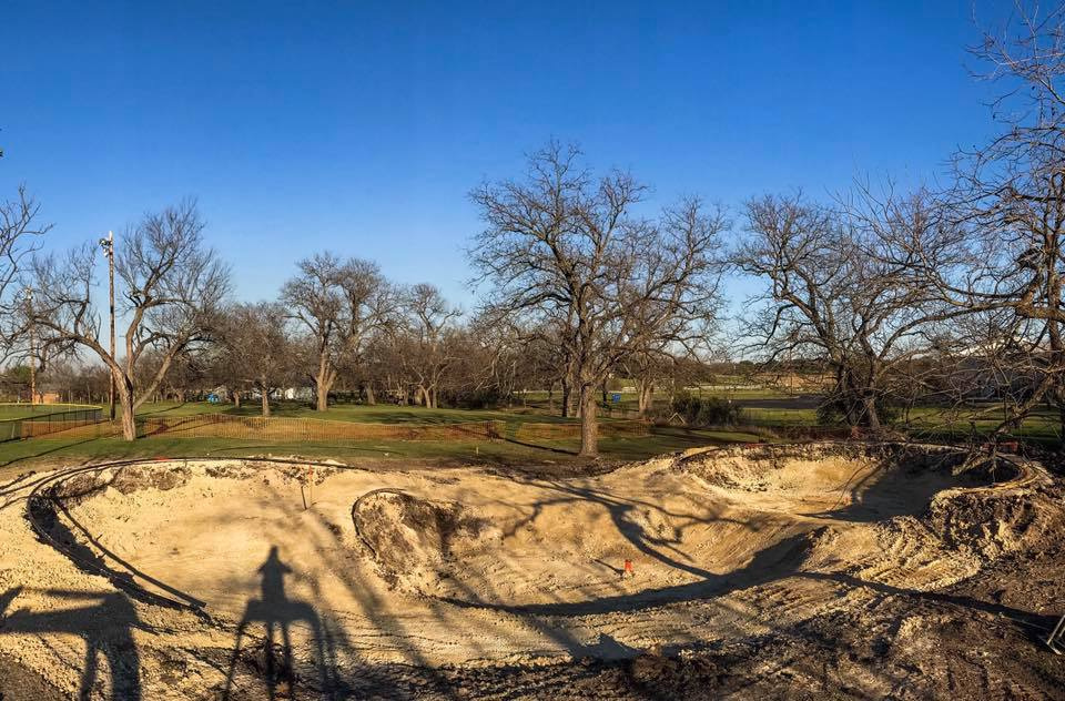 Johnson City, Texas Skatepark Construction
