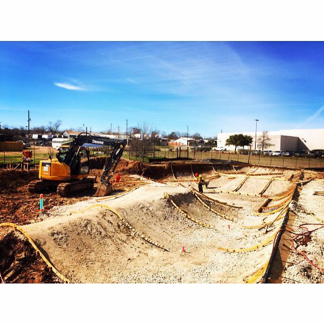 Fredericksburg, Texas Skatepark site