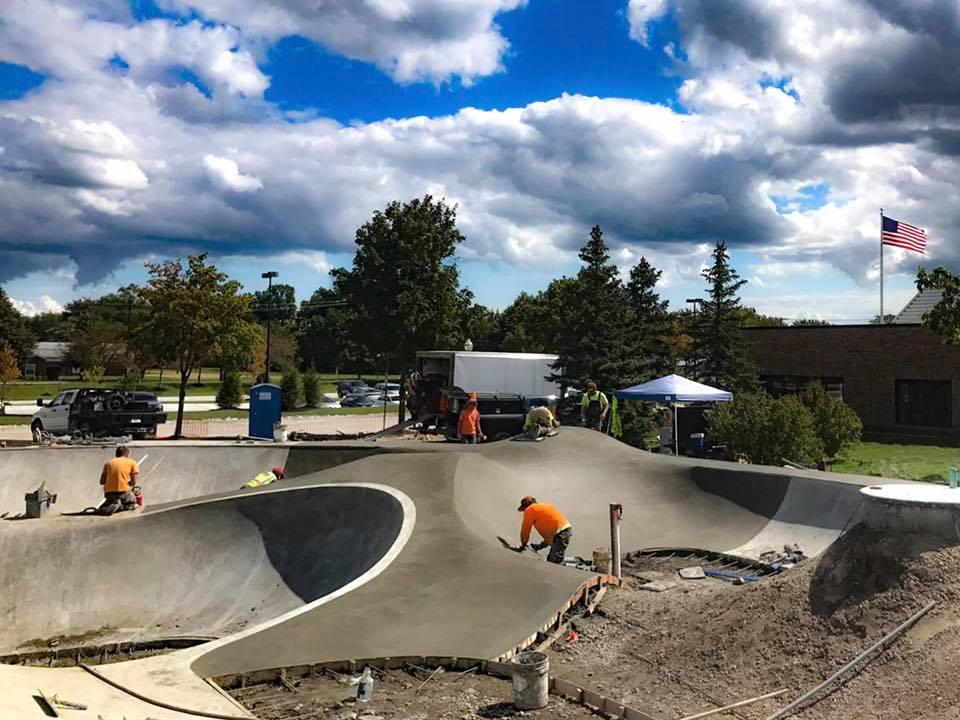 Sterling Heights, Michigan Skatepark