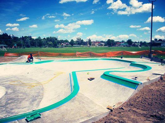 Belding, Michigan Skatepark detail work