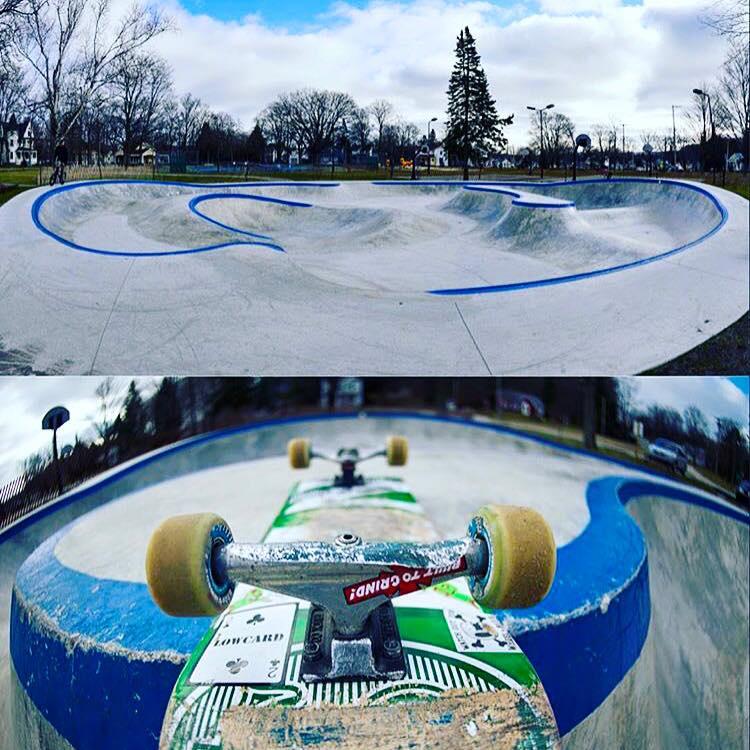 Frankfort, Michigan Skatepark