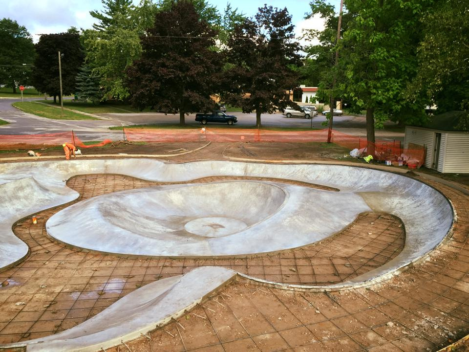 Frankfort, Michigan Skatepark Site