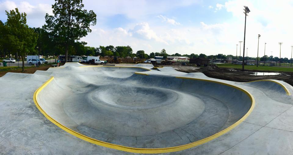 Clawson, Michigan Skatepark