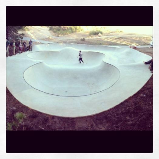 Woodward Tahoe Skatepark completed!