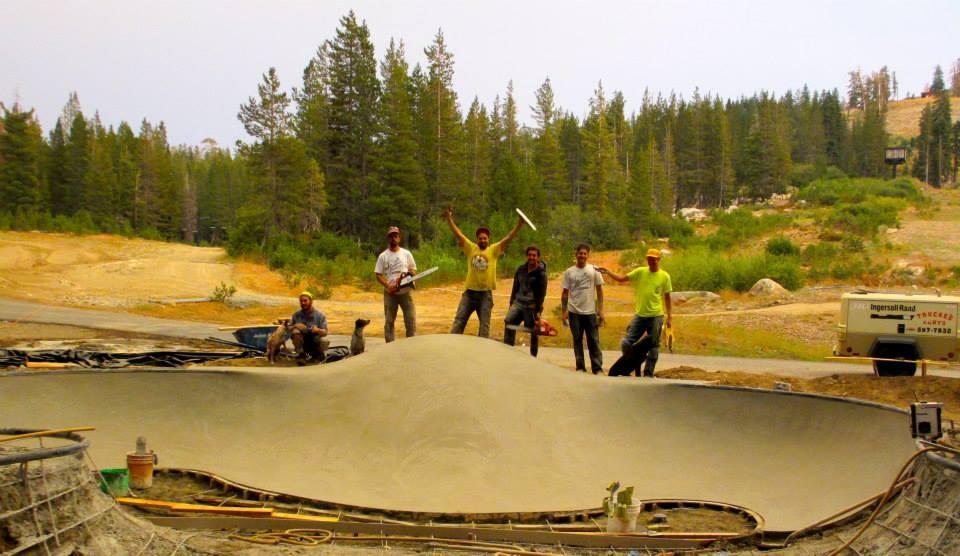 Woodward Tahoe Skatepark crew!