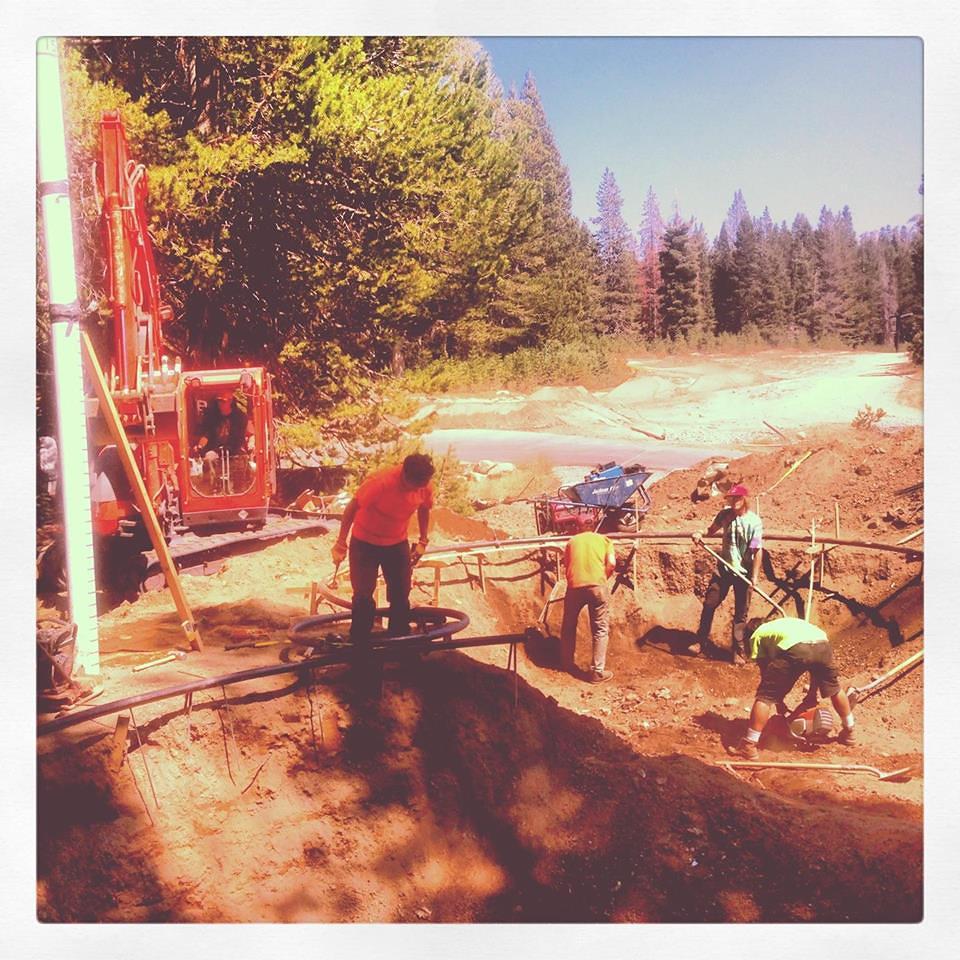 Woodward Tahoe Skatepark construction