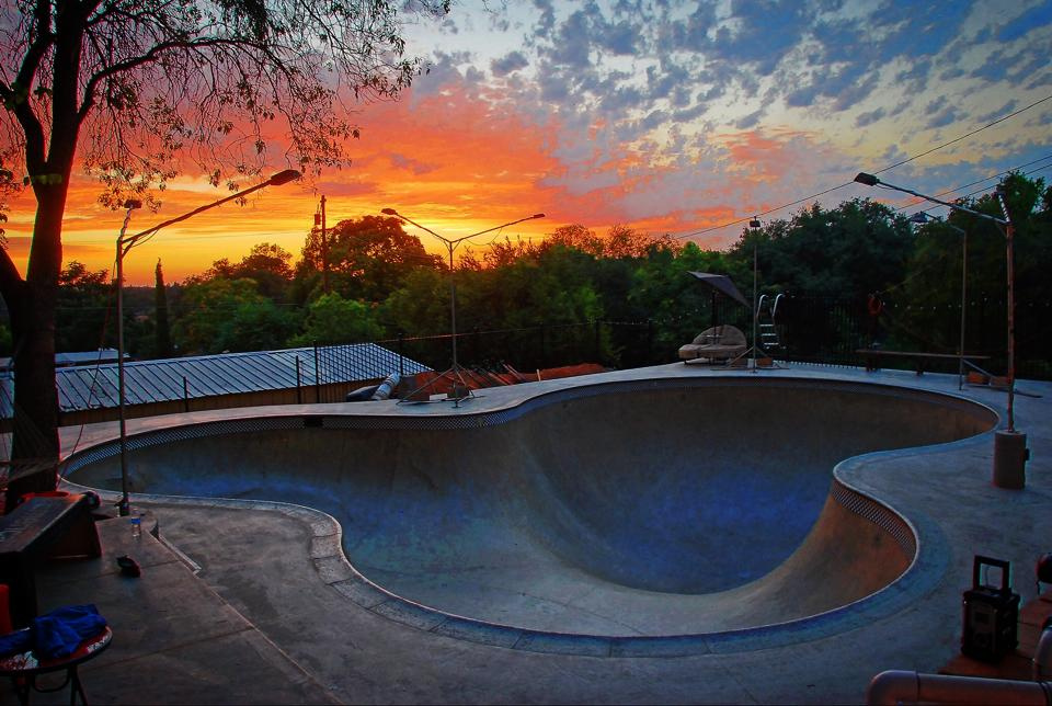Sunset at the Beeble Bowl