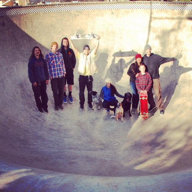 Evergreen crew visits the Beeble Bowl!