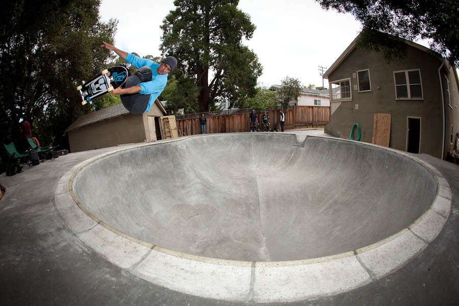 Lance Mountain frontside air