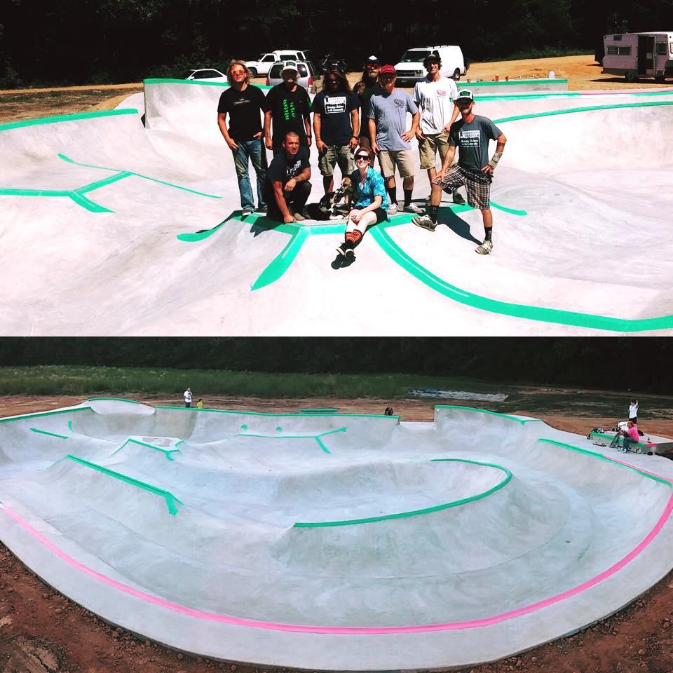Hernando, Mississippi Skatepark crew