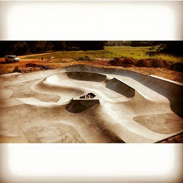 Hernando, Mississippi Skatepark is almost complete!