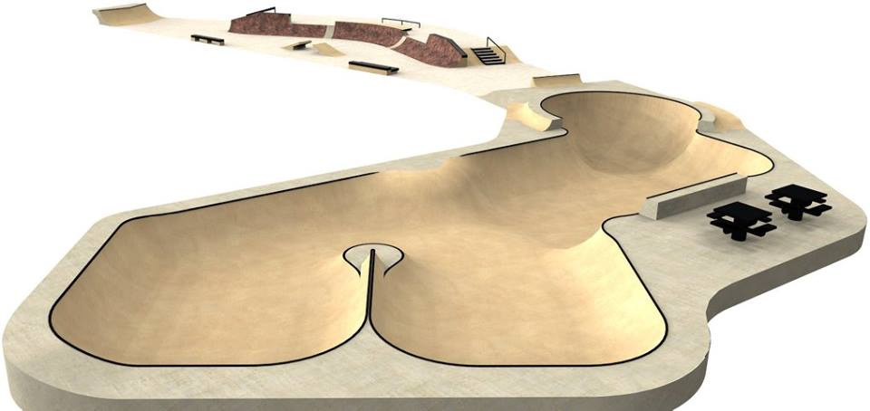Hopkinsville, Kentucky Skatepark design