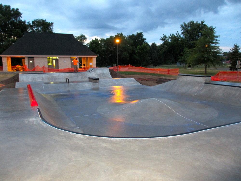 Eau Claire, Wisconsin Skatepark