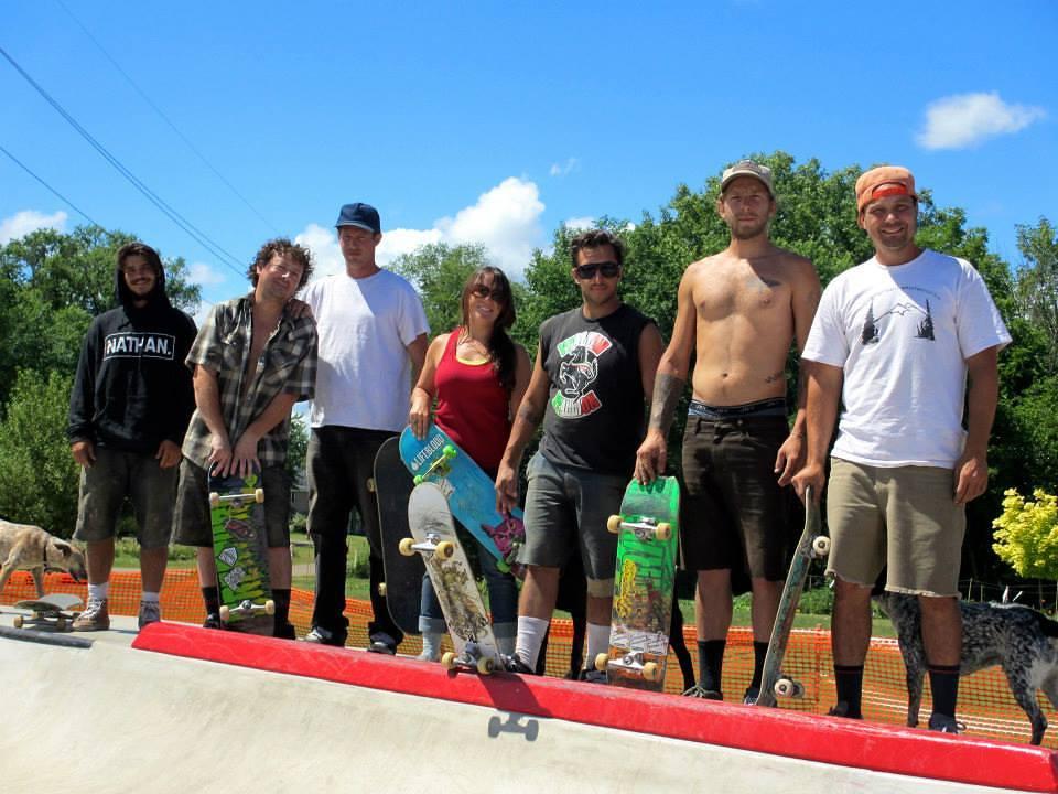 Eau Claire, Wisconsin Skatepark crew