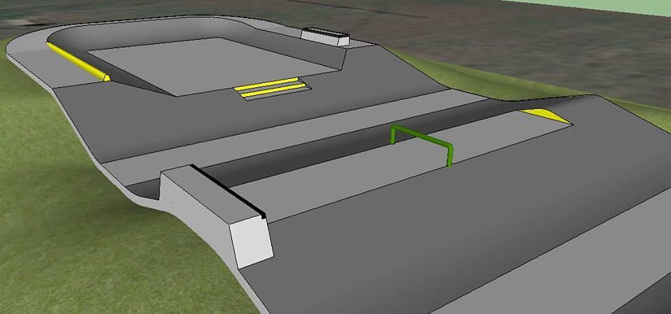 Eau Claire, Wisconsin Skatepark design