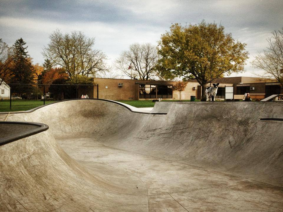 Villa Park, Illinois Skatepark with Noot