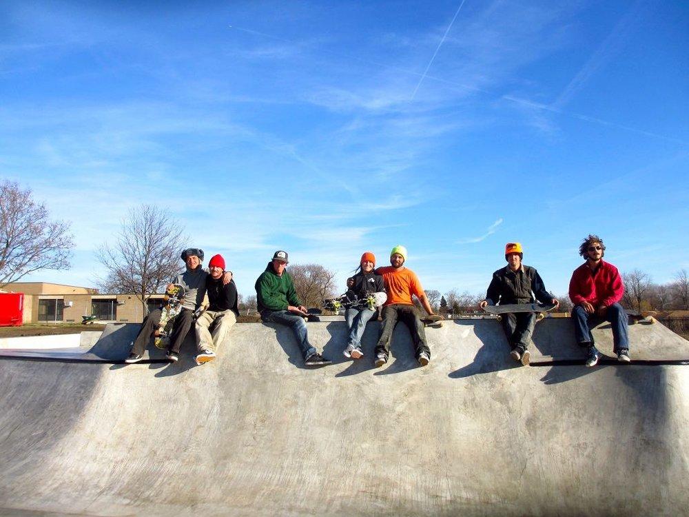 Villa Park, Illinois Skatepark crew