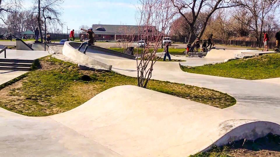 Buffalo, New York Skate Plaza