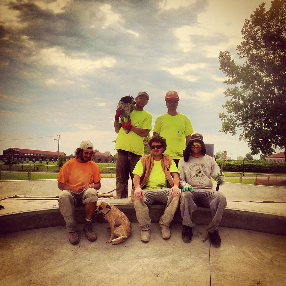 Buffalo, New York Skate Plaza crew