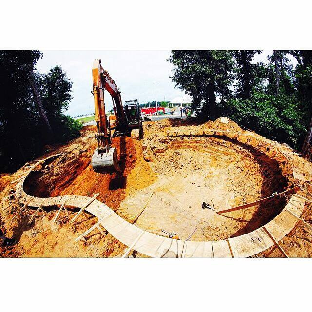 Bowl excavation
