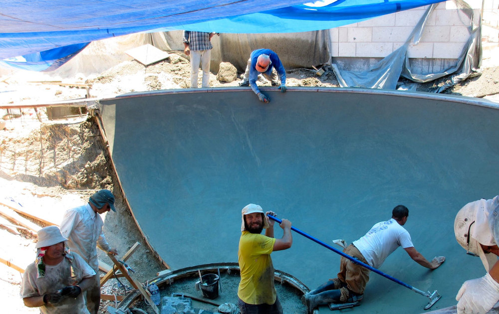 Modi'in, Israel Skatepark construction