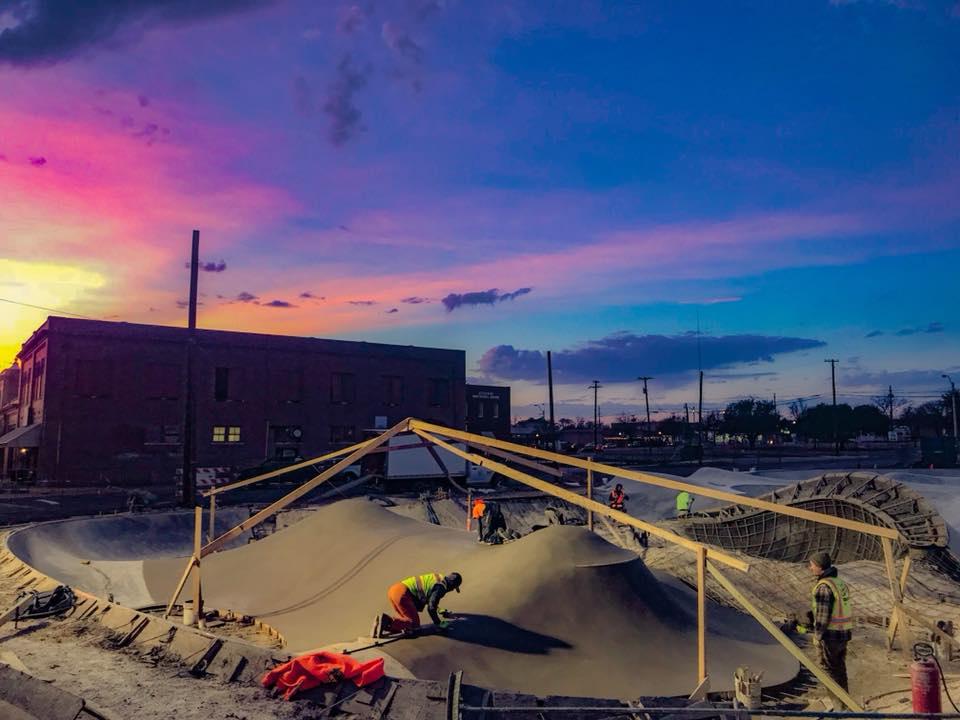 Taylor, Texas Skatepark