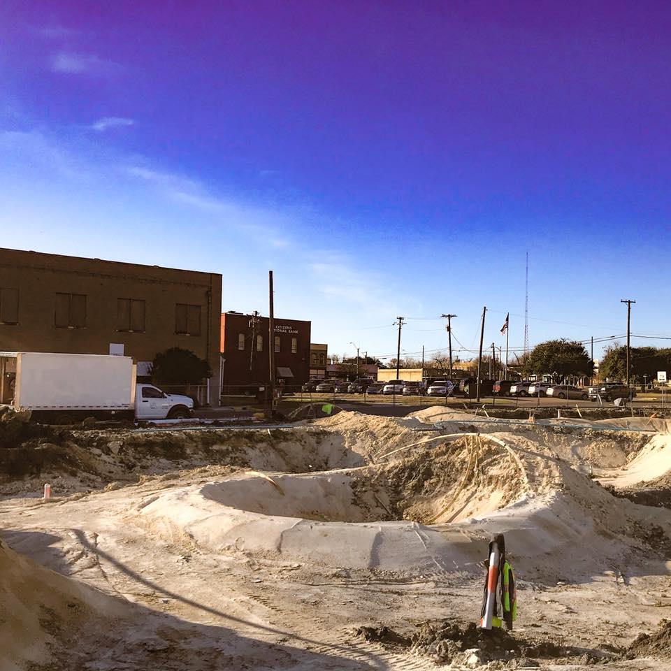 Taylor, Texas Skatepark takes shape