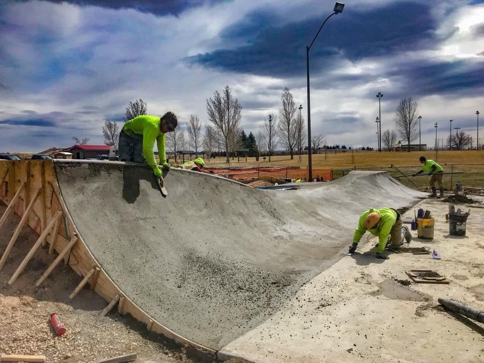 Douglas, Wyoming Skatepark Construction