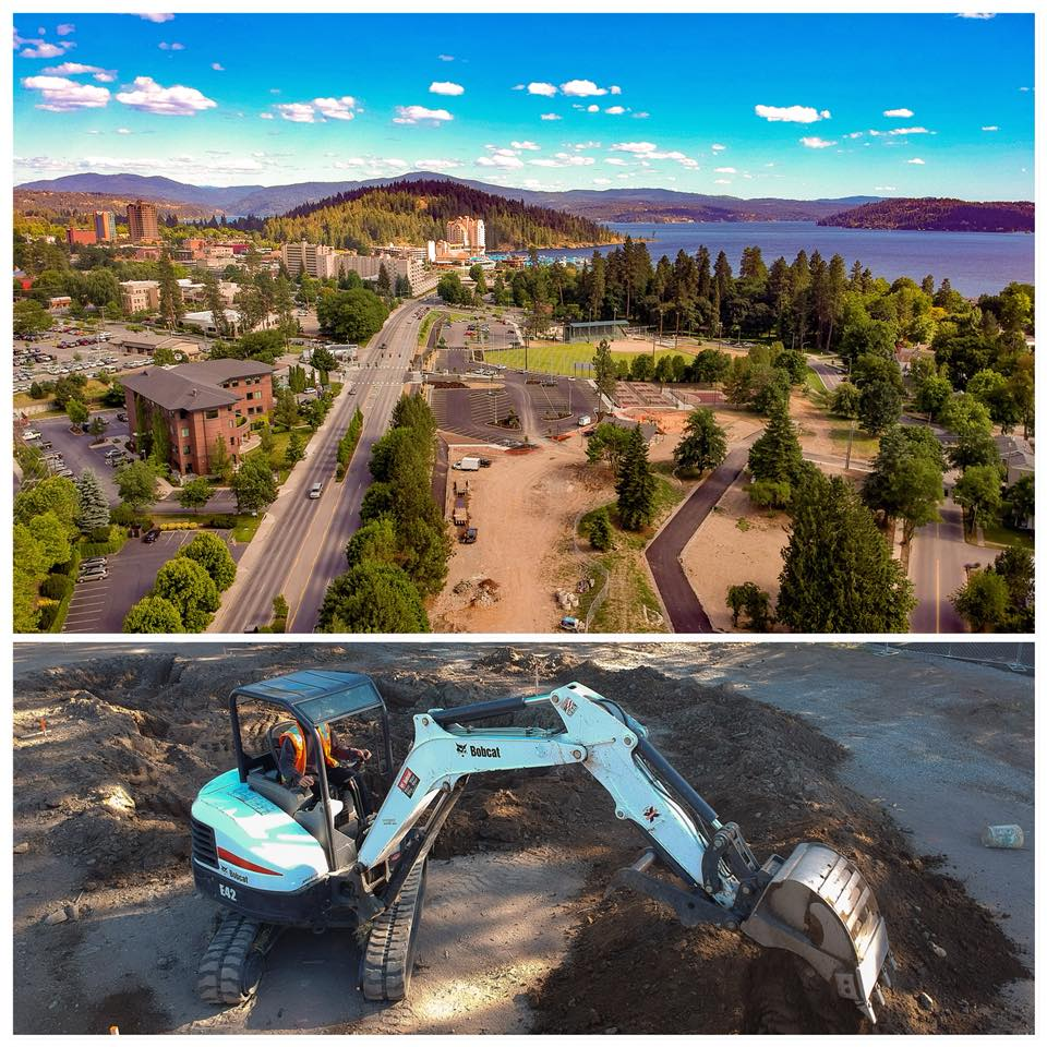 The new skatepark in Coeur d'Alene is underway