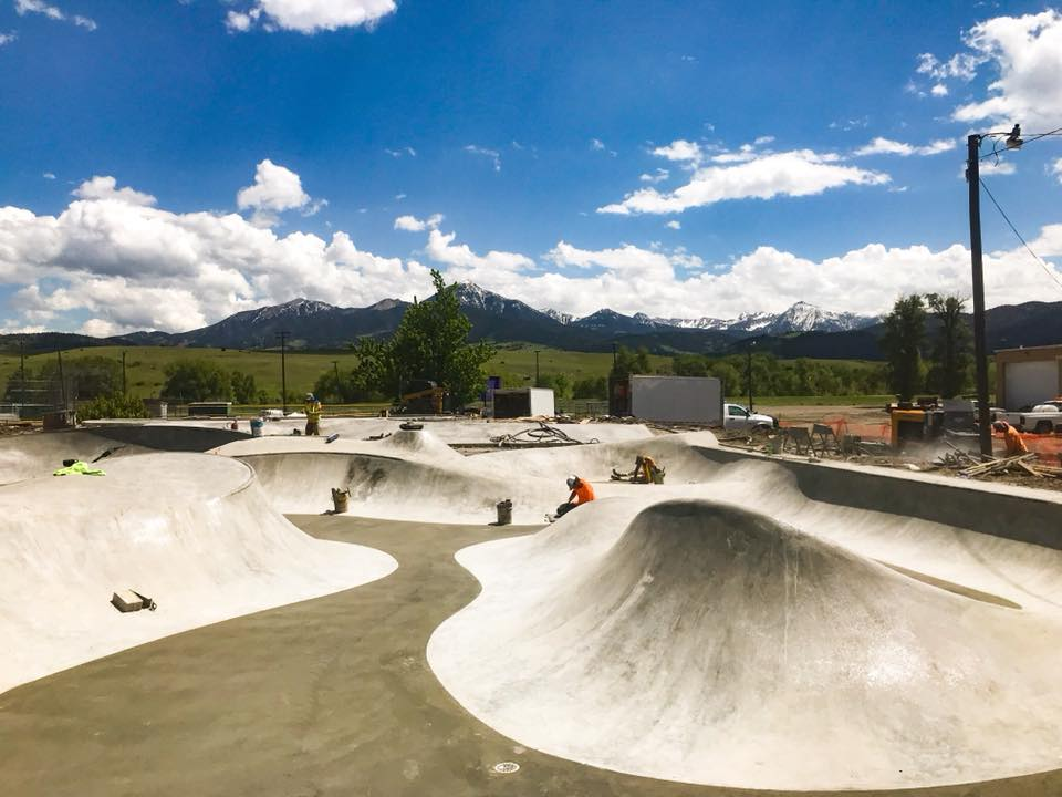 Livingston, Montana Skatepark