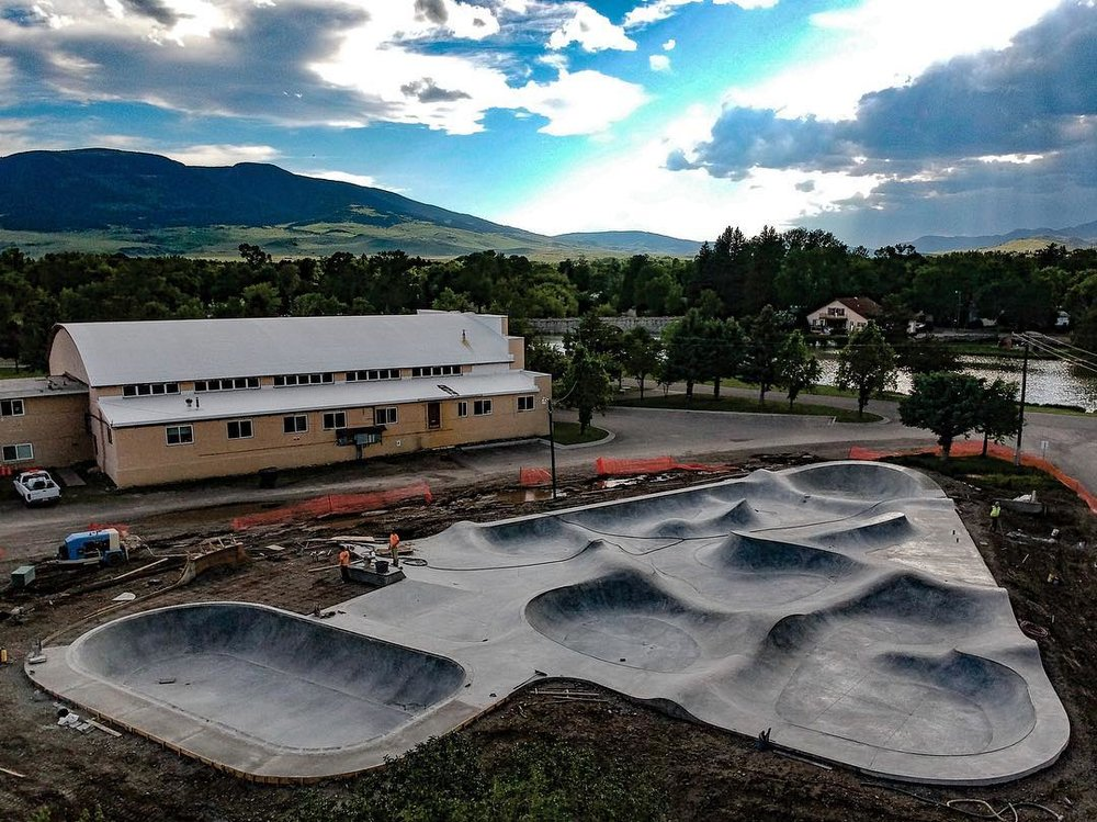 Livingston Skatepark - paradise valley