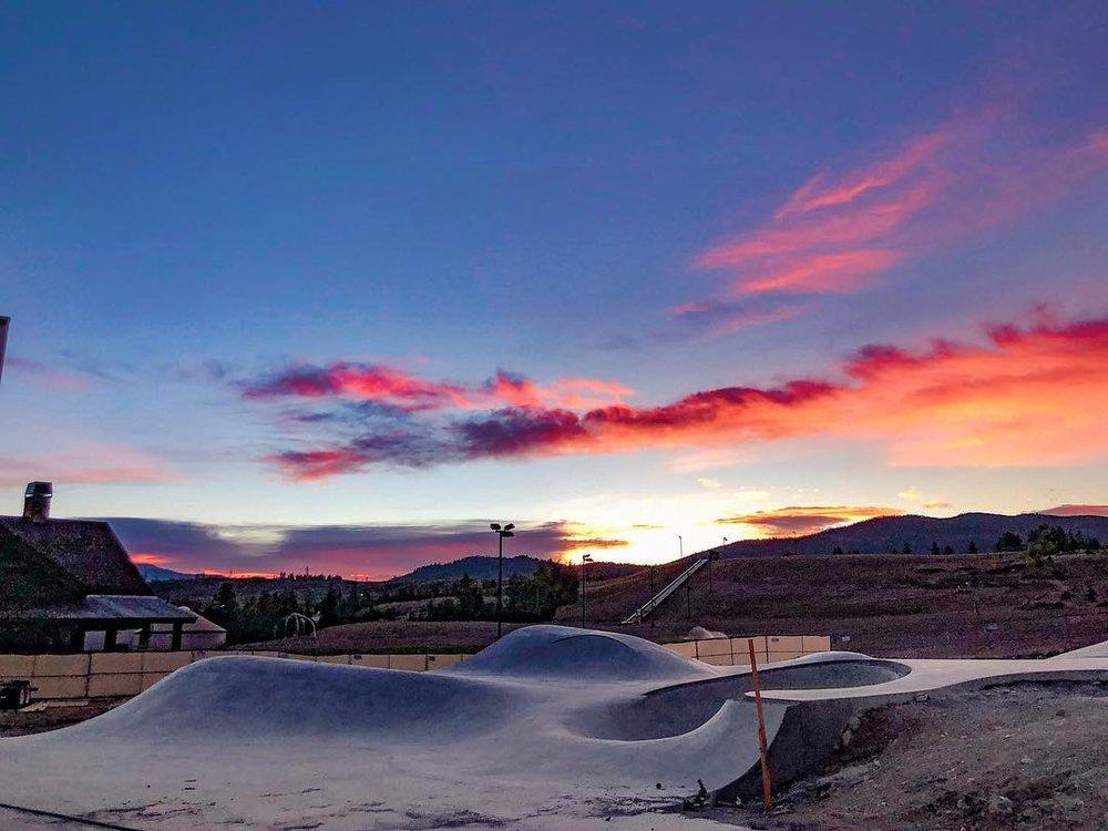 Skateboarding landscapes