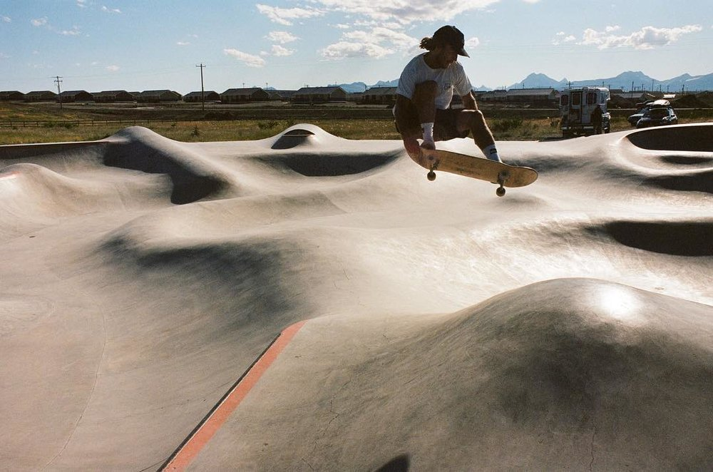 Built for the Blackfeet nation, the #thunderpark was the first Skatepark we built on a reservation in Montana with #montanapoolservice 🙏🏽 We got to build the park we had always dreamed of ⚡️⚡️⚡️