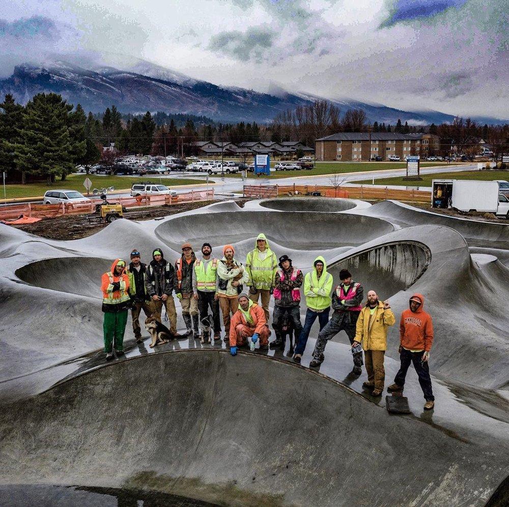 Hamilton, Montana crew 💯