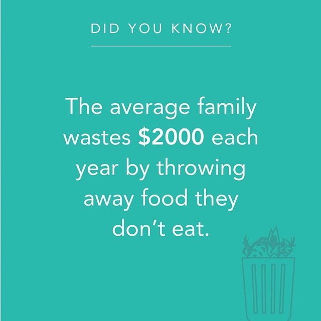 That fridge purge we all do once a month really adds up to some serious $ wasted. At Ovie our goal is to make it easy for you to enjoy ALL of your food, which saves you money and helps keep our planet beautiful.  Check out our Kickstarter to learn more (link in bio) . . . . . #savethefood #zerowaste #fridgesmarter #endfoodwaste #food #foodfact #smarterware #kickstarter  #togetherwecan #smartkitchen #smartfridge #savemoney