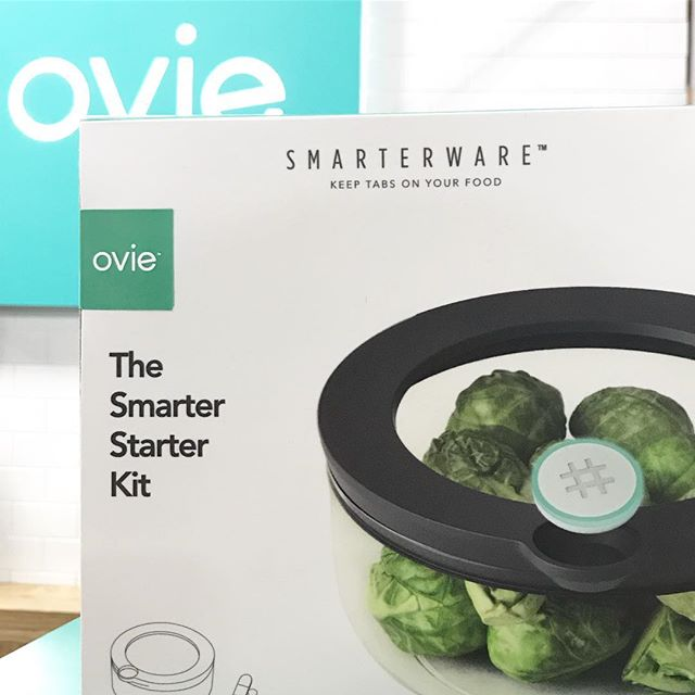 Day 3 at #CES2019! Showing off some new packaging. Come see us at the Sands booth 50925! #fridgesmarter. . Not in #Vegas? Find out more at Ovie.life