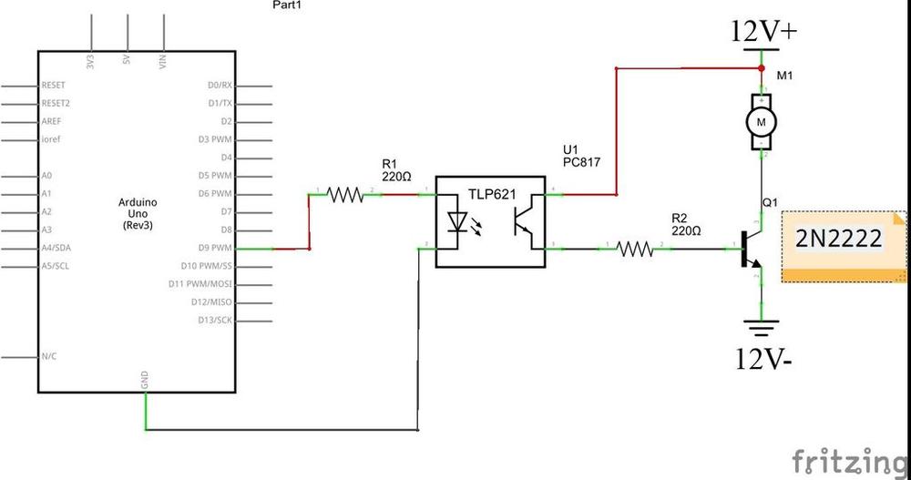 arduino optoacoplador