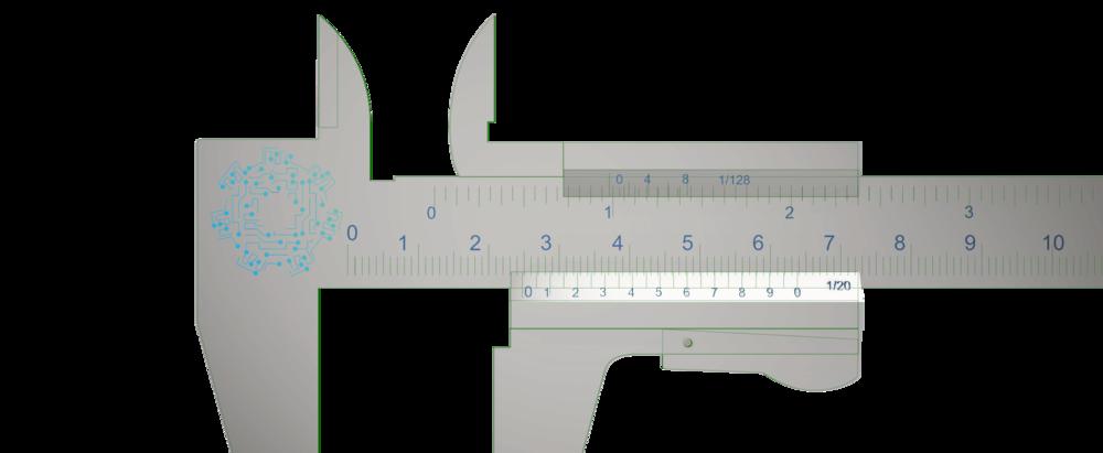 Vernier medición