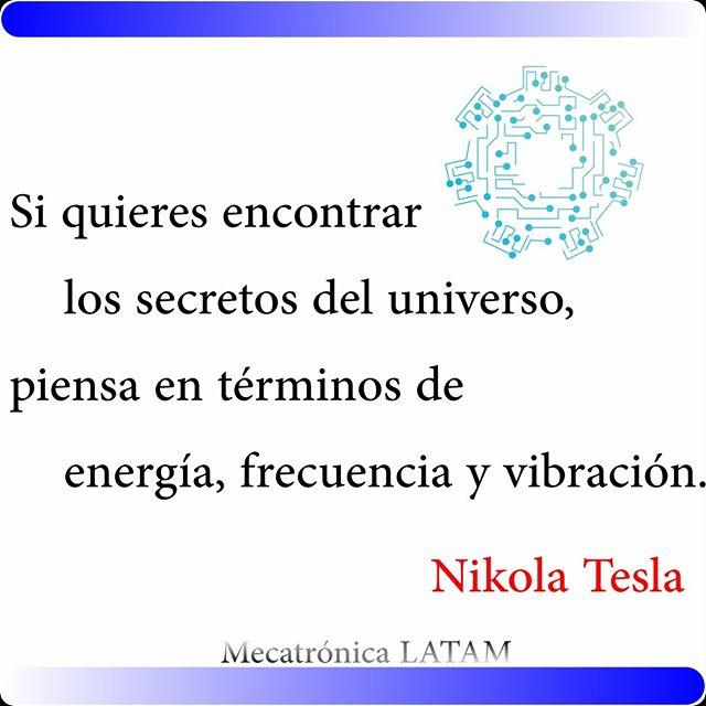 Los secretos del Universo . . . . . #universo #energía #frecuencia #vibracion #nikolatesla #ingenieros #mecatronica #ingenieriaindustrial #ingenieriamecanica #futuro #secretosdeluniverso #secreto
