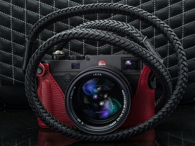Yes! We do in fact have the Vi Vante Matador Noir in stock. 12 strands of leather braided over an additional leather strap and napa leather ends with electroplated mounting rings. Completely hand made, right down to the hand stitched ends.