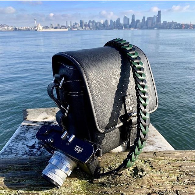 The Vi Vante Runabout Camera bag and Victory Hulk Edition Camera strap photographed by @rydmcginty Thank you Ryan!