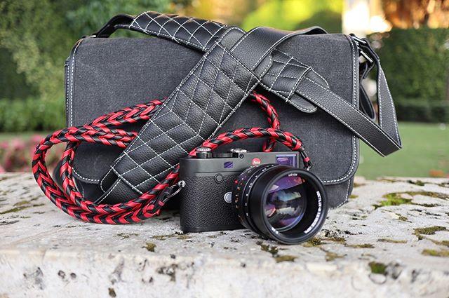 The Vi Vante DailyDriver camera bag and Ultime Phoenix camera strap.